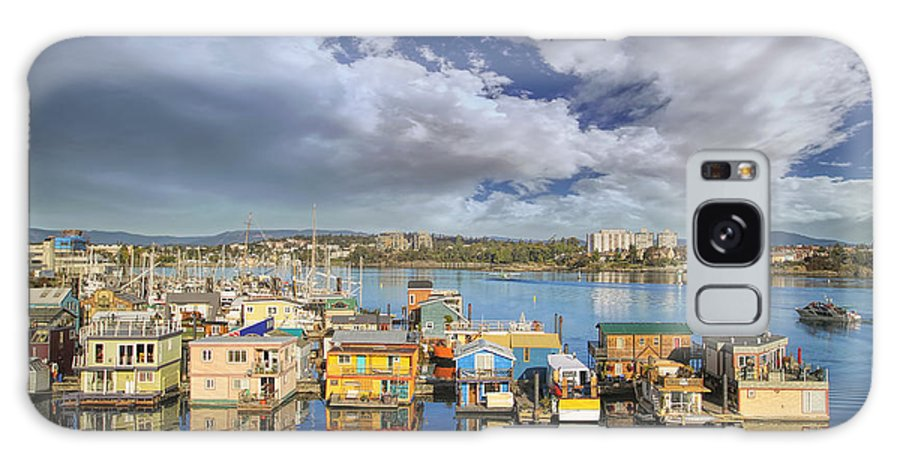 Victoria Galaxy S8 Case featuring the photograph Victoria Bc Fishermans Wharf by Jit Lim