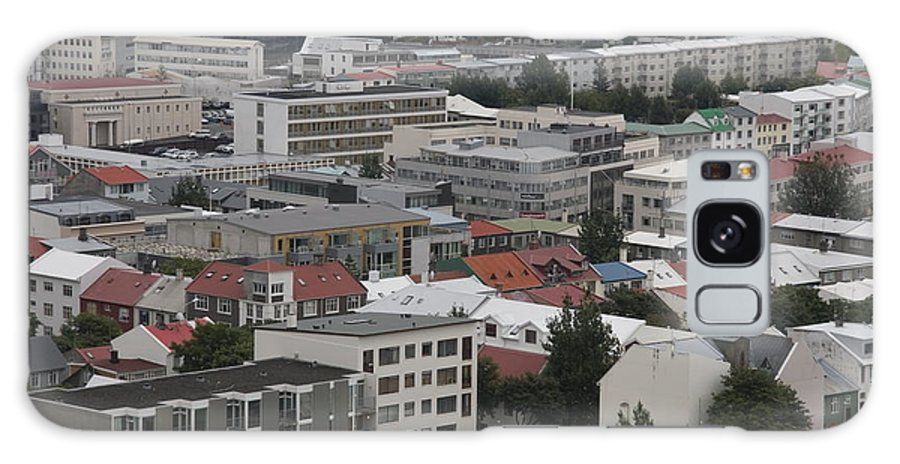 Reykjav�k Galaxy S8 Case featuring the photograph View Of Reykjavik Iceland by Ronald Jansen