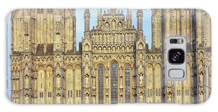 Uk Galaxy S8 Case featuring the photograph Wells Cathedral by Christopher Rees