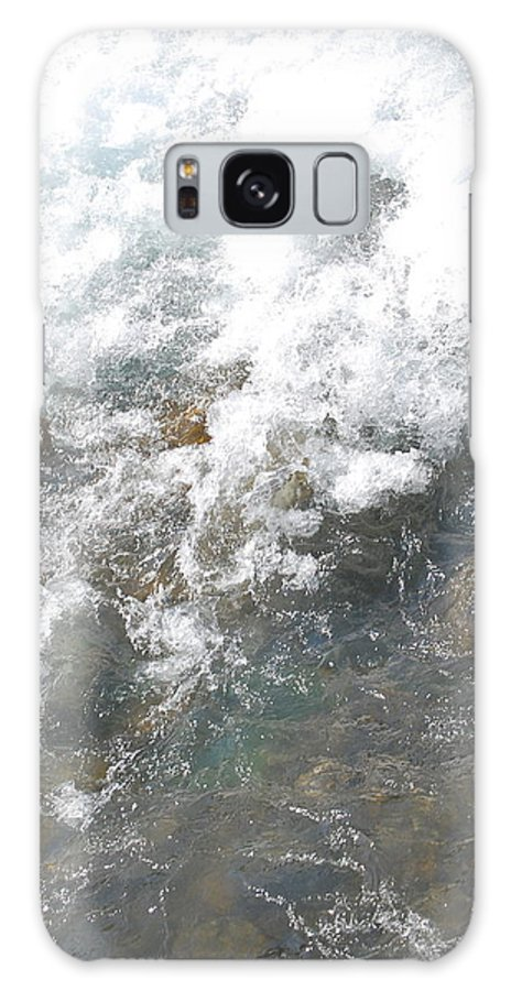 Wild Water Galaxy S8 Case featuring the photograph Wild Water by Gina Dsgn