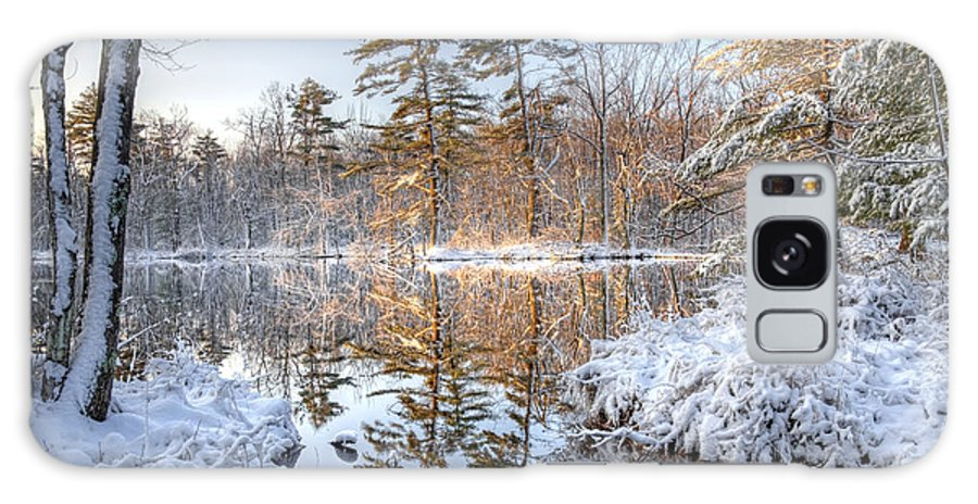 Winter Galaxy S8 Case featuring the photograph Winter Reflection by Denis Tangney Jr