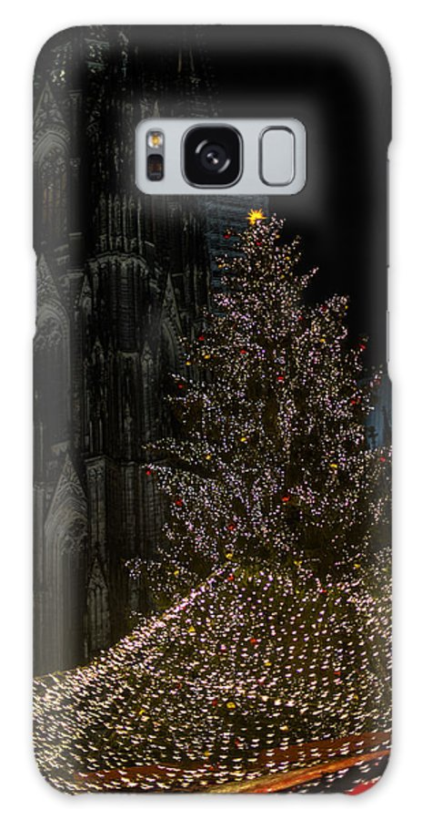 Cathedral Galaxy S8 Case featuring the photograph Xmas In Cologne by Frank Gaertner