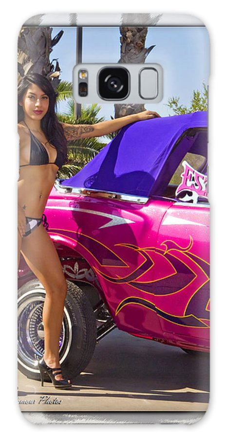 Lowrider Galaxy S8 Case featuring the photograph Lowrider by Walter Herrit