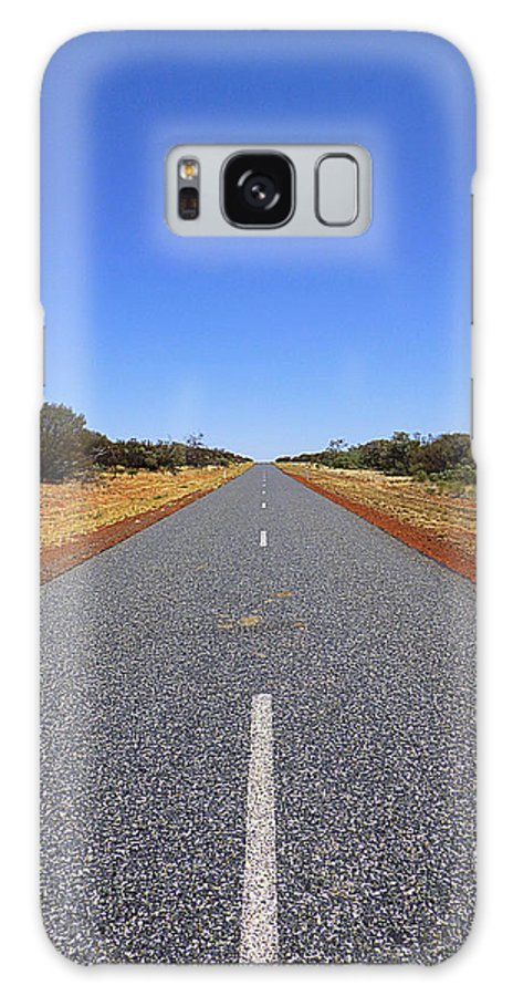 Road Galaxy S8 Case featuring the photograph Road by Girish J