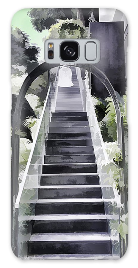 Asia Galaxy S8 Case featuring the photograph Staircase Leading To A Higher Level In Siloso Hotel In Sentosa by Ashish Agarwal