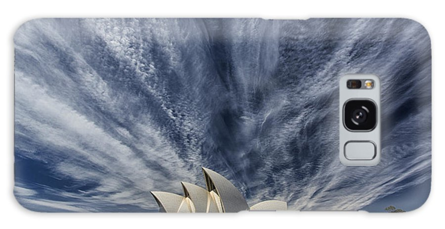 Sydney Opera House Galaxy Case featuring the photograph Sydney Opera House by Sheila Smart Fine Art Photography