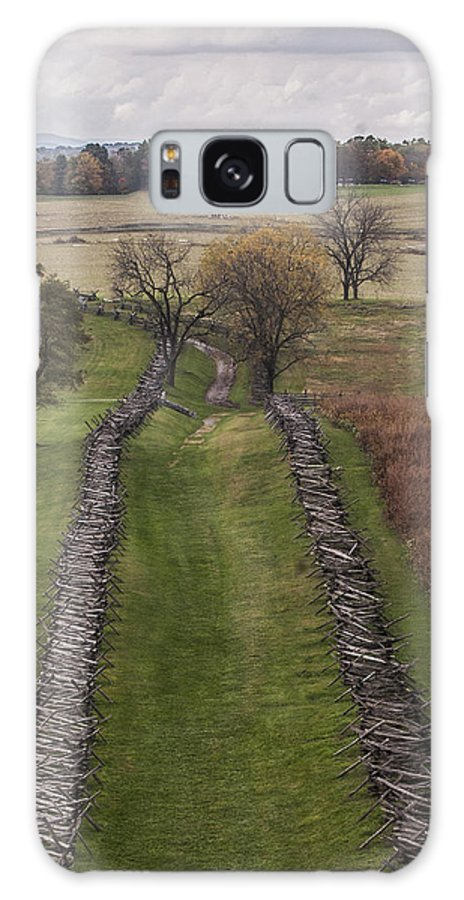 Antietam Galaxy S8 Case featuring the photograph 101514-245 by Mike Davis