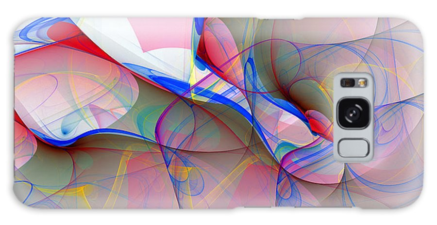 Abstract Art Galaxy S8 Case featuring the digital art 1034 by Lar Matre