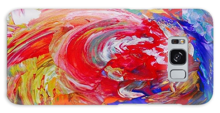 Abstract Painting Galaxy S8 Case featuring the painting Trashtistic by Rodney Friend