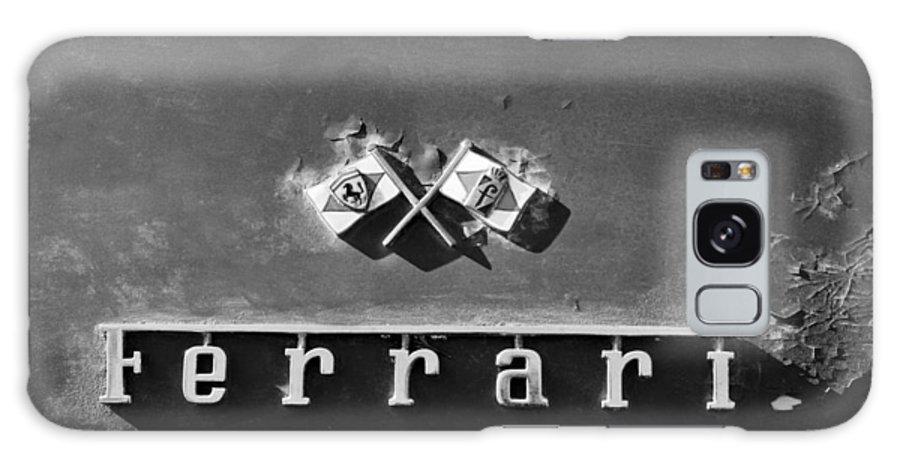 Ferrari Emblem Galaxy S8 Case featuring the photograph Ferrari Emblem by Jill Reger
