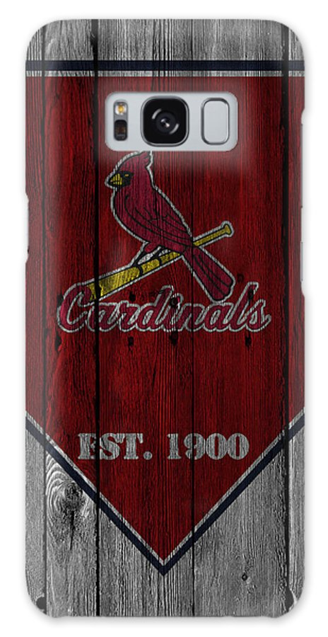 Cardinals Galaxy Case featuring the photograph St Louis Cardinals by Joe Hamilton