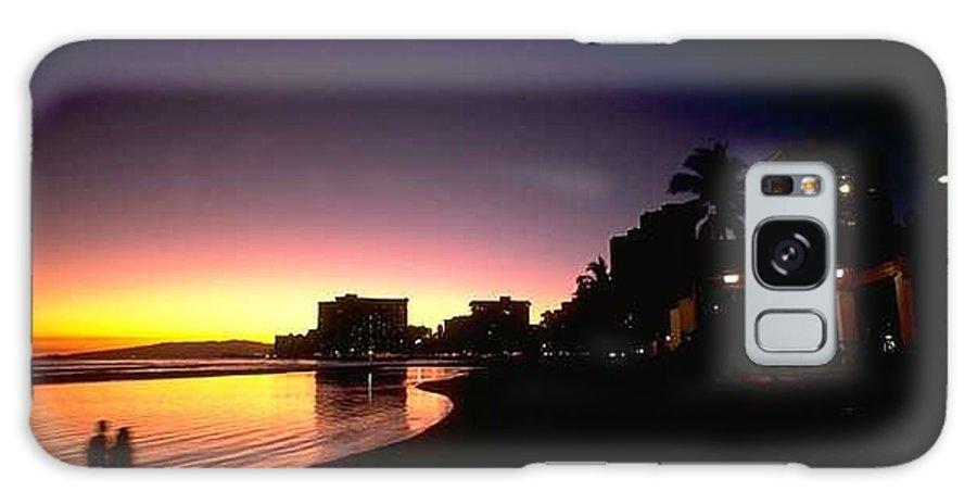 Medium Galaxy S8 Case featuring the digital art Sunrise by Ah Shin