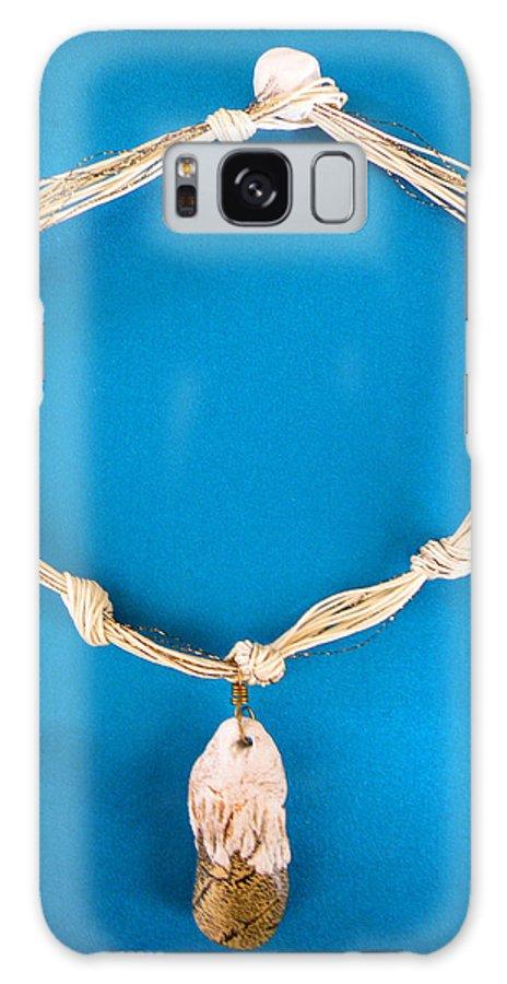 Augusta Stylianou Galaxy S8 Case featuring the jewelry Aphrodite Gamelioi Necklace by Augusta Stylianou
