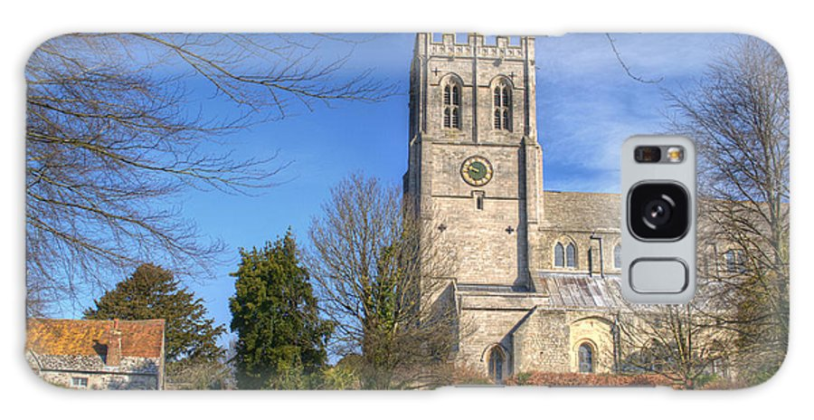 Christchurch Priory Galaxy S8 Case featuring the photograph Christchurch Priory by Chris Day