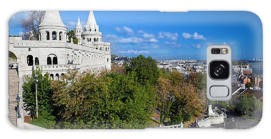 Budapest Galaxy S8 Case featuring the photograph Fisherman's Bastion In Budapest by Michal Bednarek