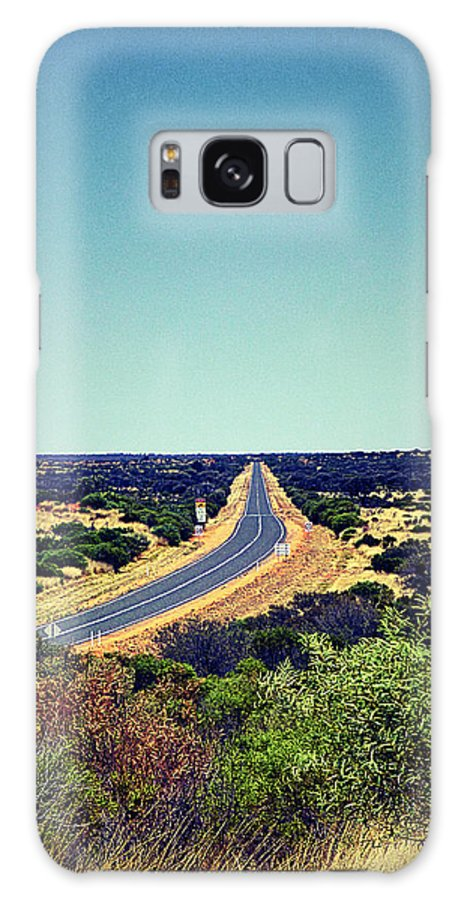 Road Galaxy S8 Case featuring the photograph Endless Road by Girish J