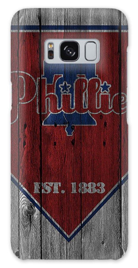 Phillies Galaxy S8 Case featuring the photograph Philadelphia Phillies by Joe Hamilton