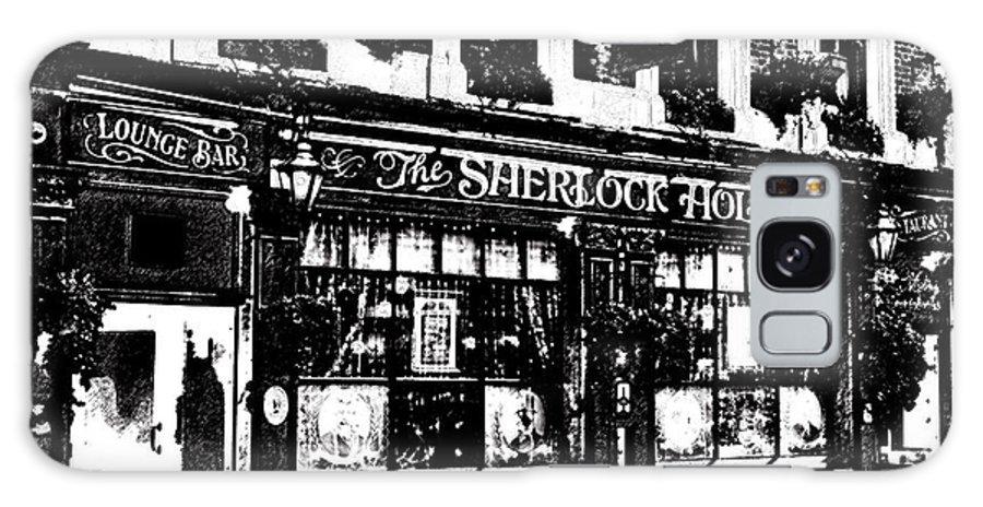 Sherlock Holmes Galaxy S8 Case featuring the digital art The Sherlock Holmes Pub by David Pyatt