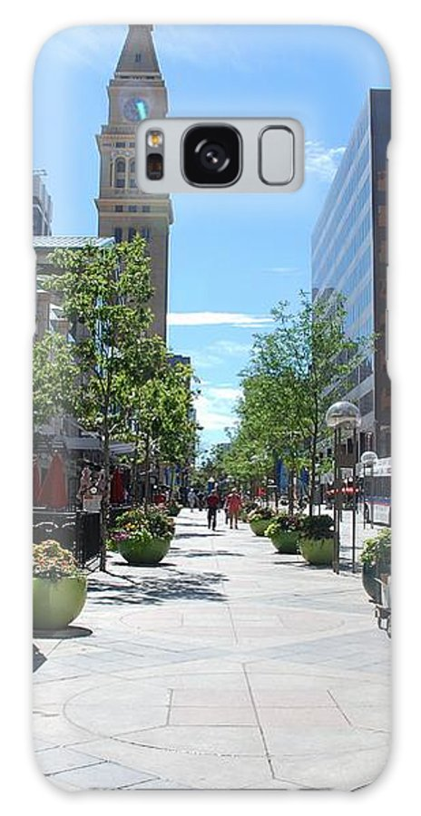 16th Galaxy S8 Case featuring the photograph 16th Street Mall - Denver by Dany Lison