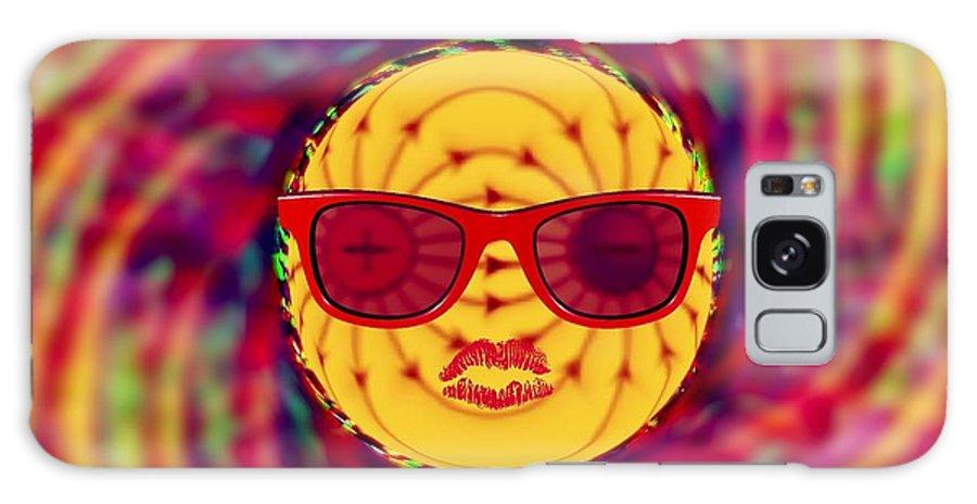 Meditation Galaxy S8 Case featuring the digital art The Big Bang Theory by Meiers Daniel