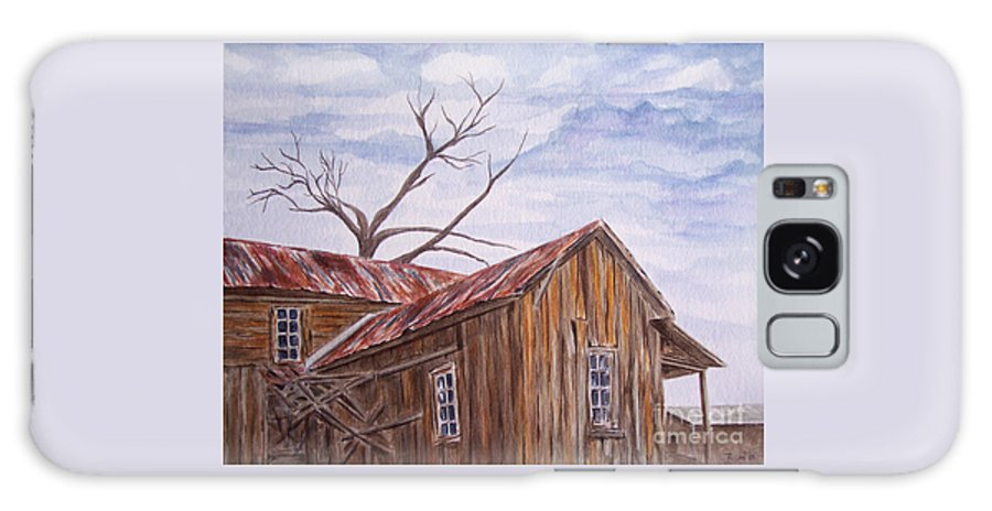 Old House Galaxy S8 Case featuring the painting 1800's by Regan J Smith