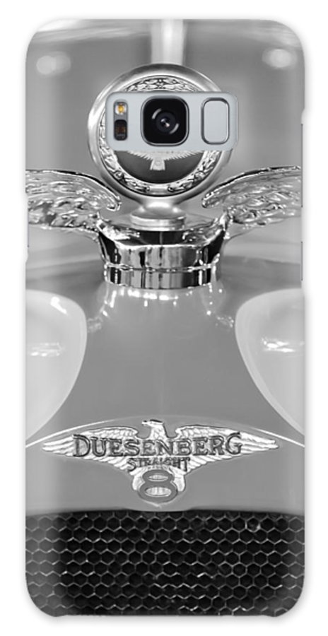 1926 Duesenberg Model A Galaxy S8 Case featuring the photograph 1926 Duesenberg Model A Boyce Motometer 2 by Jill Reger