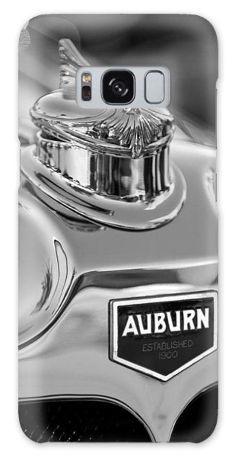 1929 Auburn 8-90 Speedster Galaxy S8 Case featuring the photograph 1929 Auburn 8-90 Speedster Hood Ornament 2 by Jill Reger