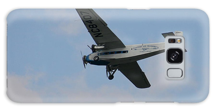 Air Galaxy S8 Case featuring the photograph 1929 Ford Tri Motor Mail Plane Side by David Dunham