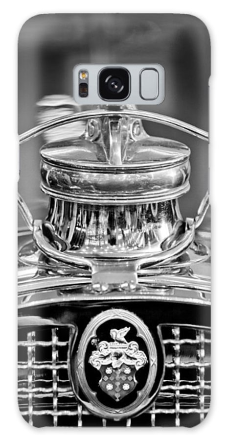1929 Packard 8 Galaxy S8 Case featuring the photograph 1929 Packard 8 Hood Ornament 4 by Jill Reger