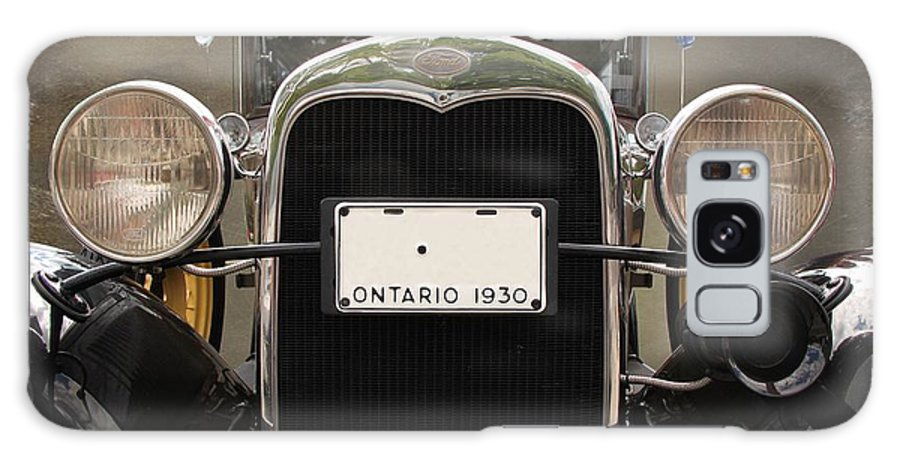 Car Galaxy S8 Case featuring the photograph 1930 Ford Model A by Davandra Cribbie
