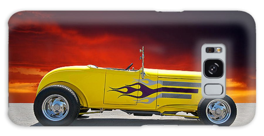 Coupe Galaxy S8 Case featuring the photograph 1930 Model A Roadster IIi by Dave Koontz