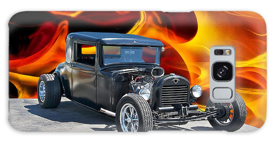 Coupe Galaxy S8 Case featuring the photograph 1930 Hudson Coupe I by Dave Koontz