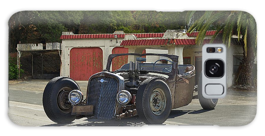 Coupe Galaxy S8 Case featuring the photograph 1931 Rataoulle 'rat Rod' by Dave Koontz