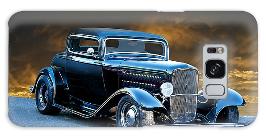 Coupe Galaxy S8 Case featuring the photograph 1932 Deuce Coupe by Dave Koontz