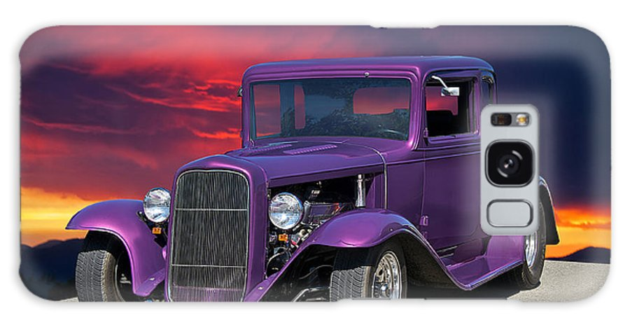 Coupe Galaxy S8 Case featuring the photograph 1932 Ford Coupe 'people Eater' by Dave Koontz