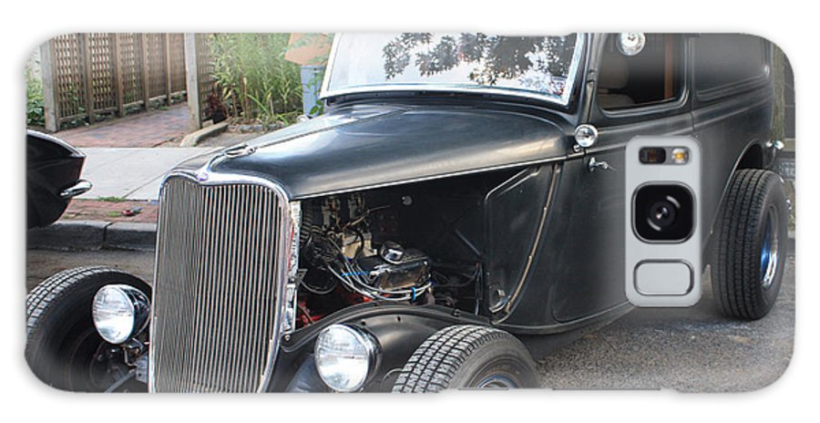 1933 Ford Two Door Sedan Front And Side View Galaxy S8 Case featuring the photograph 1933 Ford Two Door Sedan Front And Side View by John Telfer