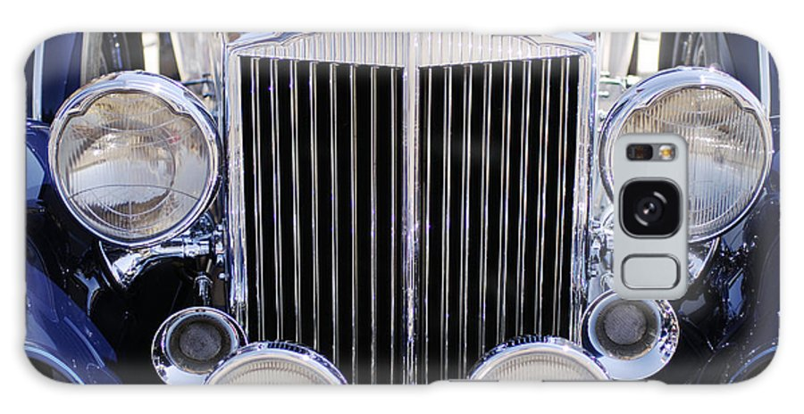 1933 Packard 12 Convertible Coupe Grille Galaxy S8 Case featuring the photograph 1933 Packard 12 Convertible Coupe Grille by Jill Reger