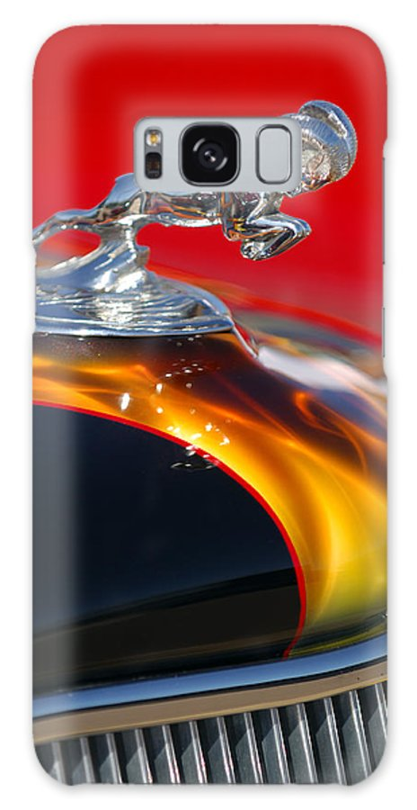 1936 Dodge Ram Hood Ornament Galaxy S8 Case featuring the photograph 1936 Dodge Ram Hood Ornament 1 by Jill Reger