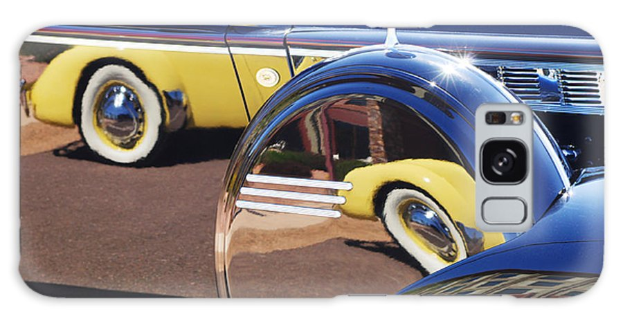 1937 Cord 812 Phaeton Reflected Into Packard Galaxy S8 Case featuring the photograph 1937 Cord 812 Phaeton Reflected Into Packard by Jill Reger