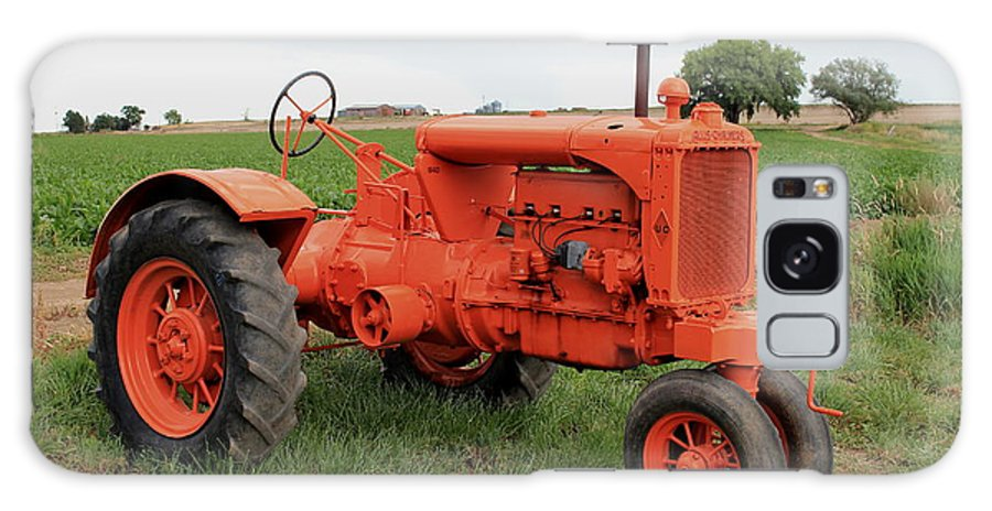 Vintage Galaxy S8 Case featuring the photograph 1940 Allis Chalmers by Trent Mallett