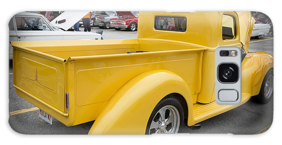 1941 Ford Pickup Galaxy S8 Case featuring the photograph 1941 Ford Pickup Truck Side View Classic Automobile In Color 30 by M K Miller
