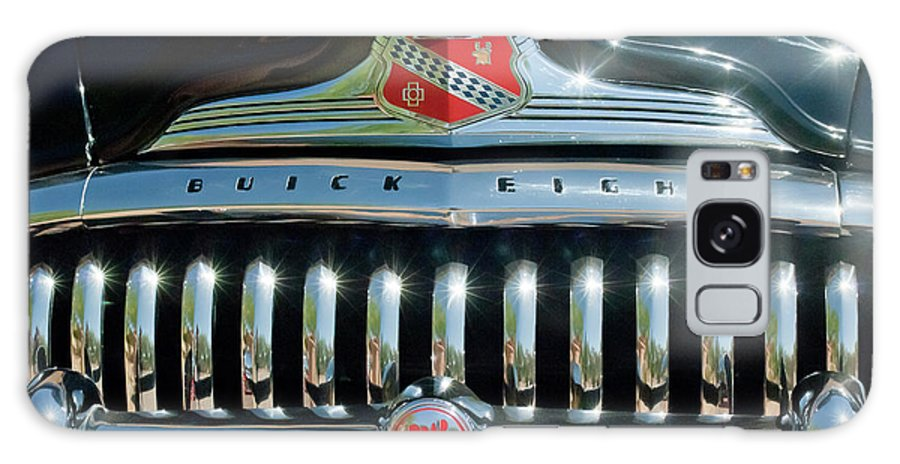 1947 Buick Galaxy S8 Case featuring the photograph 1947 Buick Sedanette Grille by Jill Reger