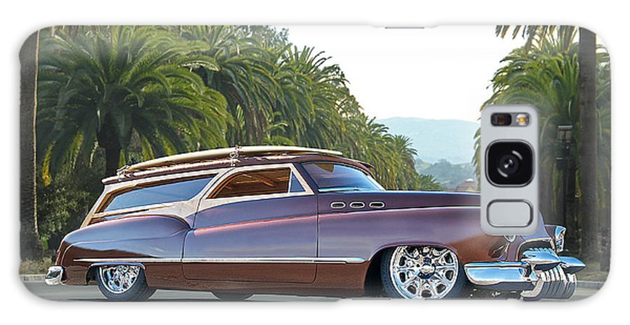 Auto Galaxy S8 Case featuring the photograph 1950 Buick Woody Wagon Vi by Dave Koontz