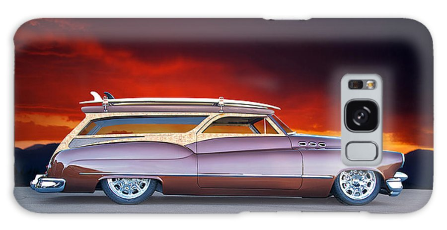 Auto Galaxy S8 Case featuring the photograph 1950 Buick Woody Wagon X by Dave Koontz