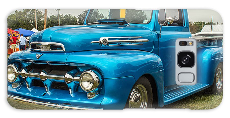 Hot Rod Galaxy S8 Case featuring the photograph 1951 Ford by Ken Kobe
