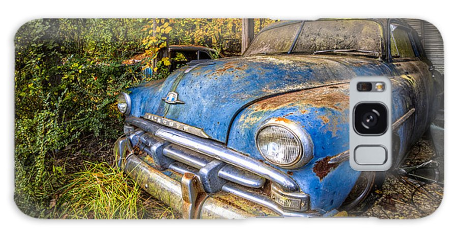 1950 Galaxy S8 Case featuring the photograph 1952 Plymouth by Debra and Dave Vanderlaan