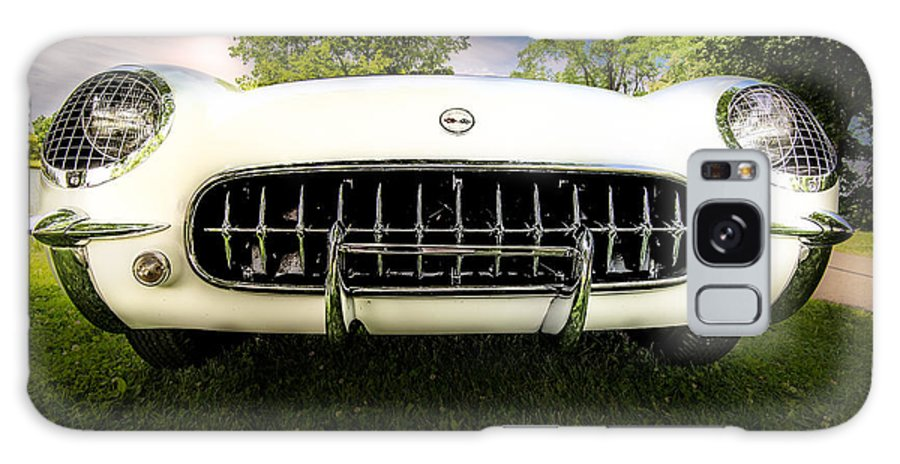 1954 Chevrolet Corvette Stingray Galaxy S8 Case featuring the photograph 1954 Corvette Stingray by Onyonet Photo Studios