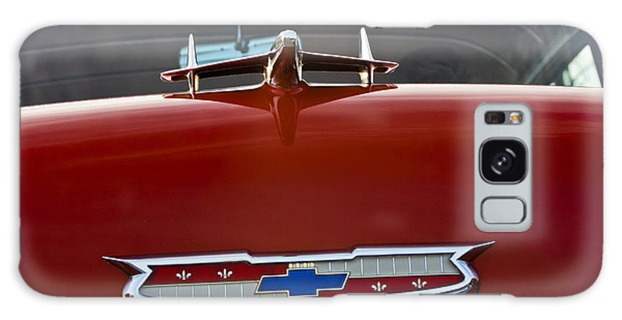 Transportation Galaxy S8 Case featuring the photograph 1955 Chevy Bel Air by Dennis Coates