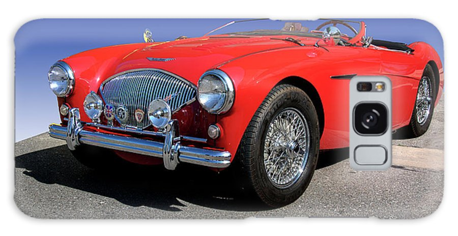1956 Galaxy S8 Case featuring the photograph 1956 Austin Healey by Paul Cannon