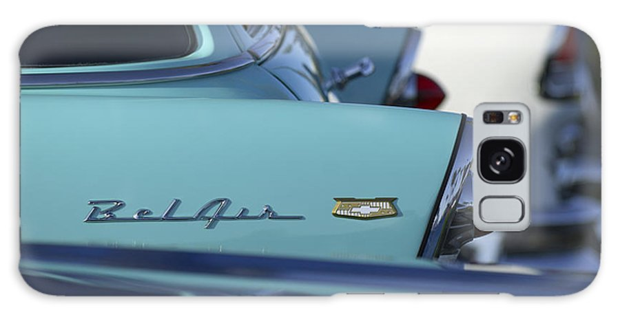 Car Galaxy S8 Case featuring the photograph 1956 Chevrolet Belair Nomad Rear End by Jill Reger